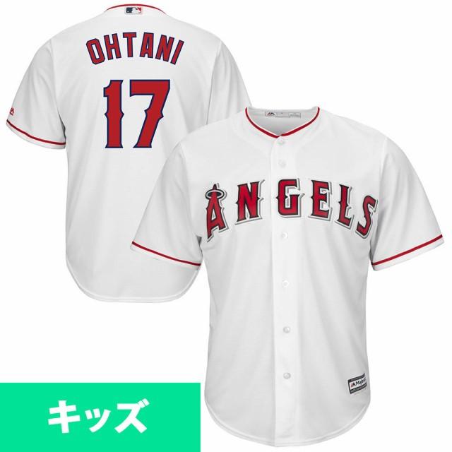 MLB エンゼルス 大谷翔平 キッズ レプリカ ユニフ...
