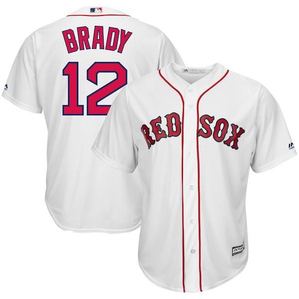 お取り寄せ MLB レッドソックス トム・ブレイディ...