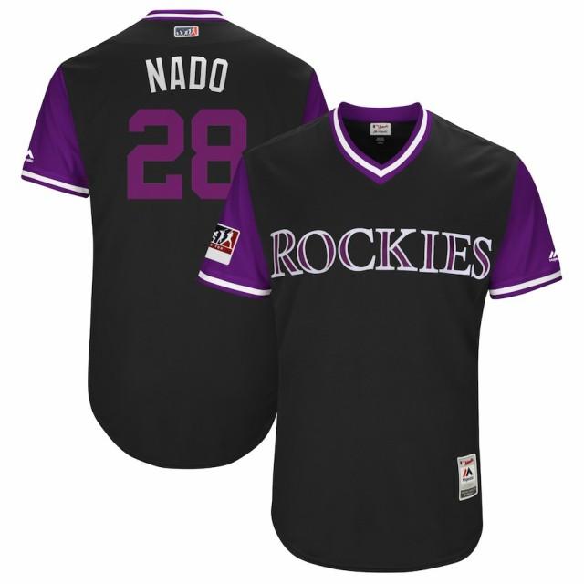 お取り寄せ MLB ロッキーズ ノーラン・アレナド ...