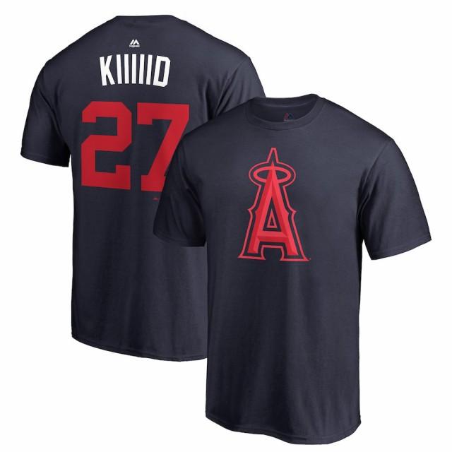 MLB エンゼルス マイク・トラウト Tシャツ 2018 ...