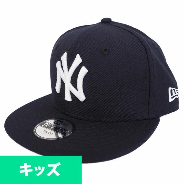 MLB ヤンキース キッズ 9FIFTY スナップバック キ...