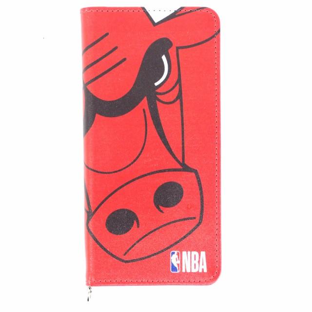 NBA ブルズ 手帳型 スマホカバー/スマホケース