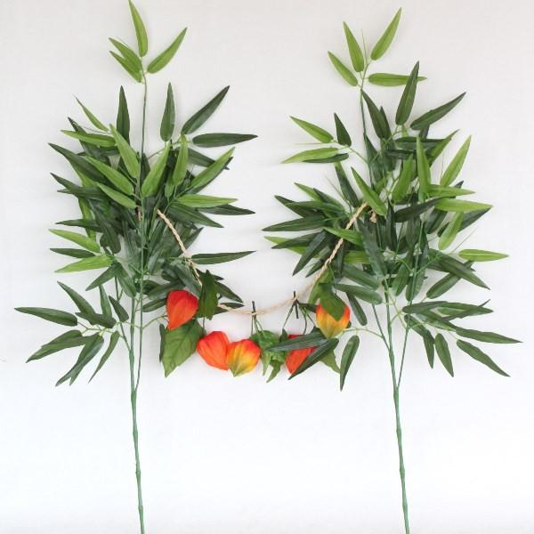 造花 仏花 笹竹とほおずきの盆棚飾り 小サイズ 盆...