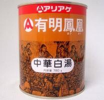 [アリアケ】有明鳳凰 パイタン 中華白湯 780g/缶...