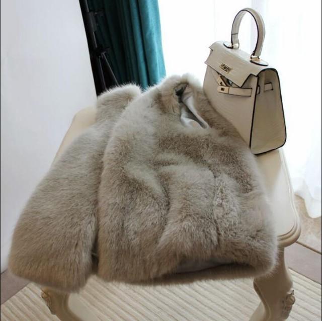 限定♪毛皮コート ベスト人気 上質 コート 上着 ...