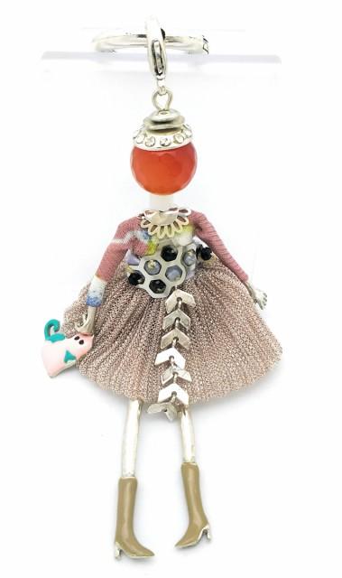 キュートなお人形のキーホルダー フランス キーホ...