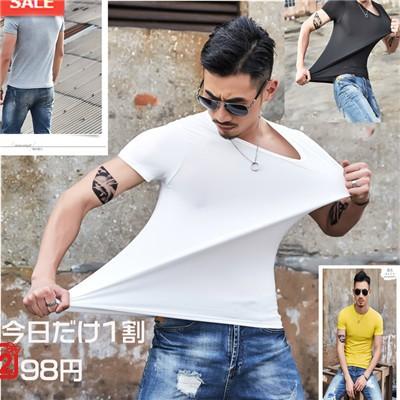 「お買い得」メンズ 半袖 Tシャツ