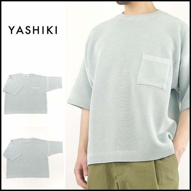 YASHIKI(ヤシキ)YSK-18SS-KN08 Shiosai Knit / ...