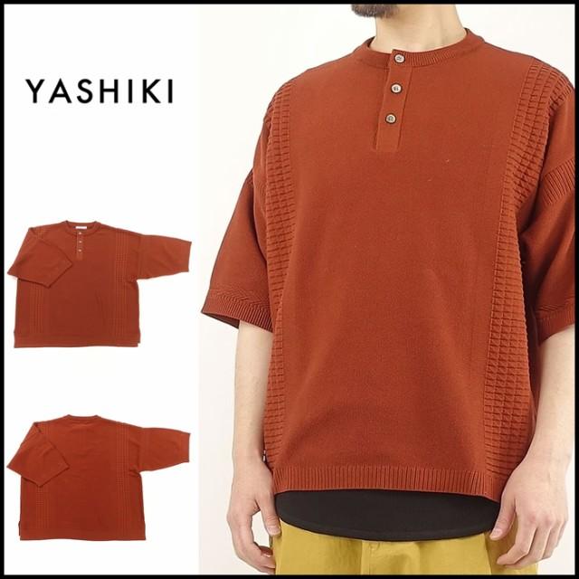 YASHIKI(ヤシキ)YSK-18SS-KN09 Hyouka Henley K...