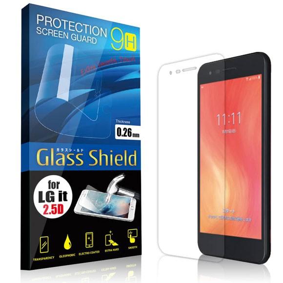 液晶保護フィルム LG it LGV36 2.5D 9H ガラスシ...