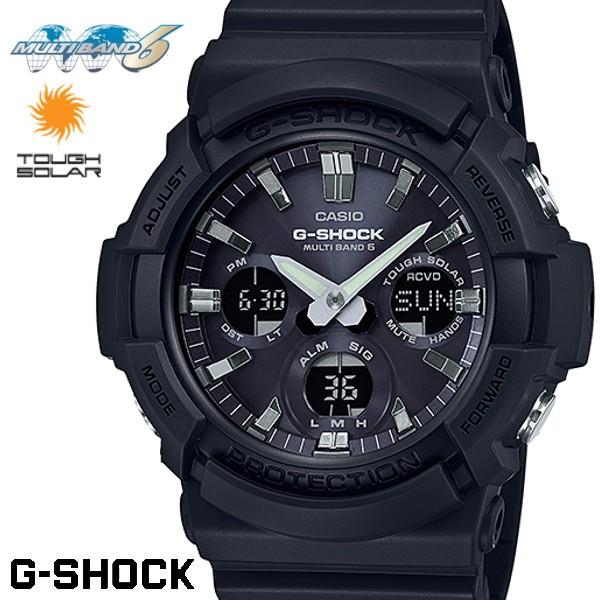 CASIO G-SHOCK 電波ソーラー GAW-100B-1AJF Gショ...