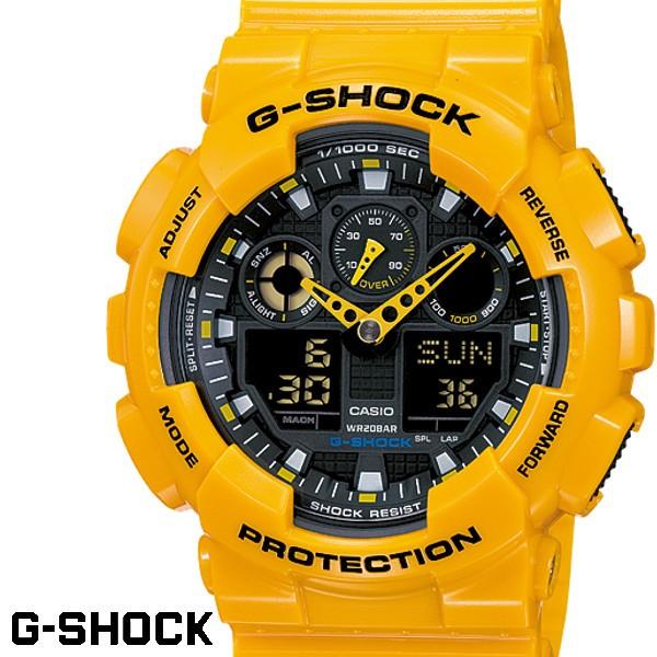 CASIO G-SHOCK GA-100A-9 ジーショック g-shock ...