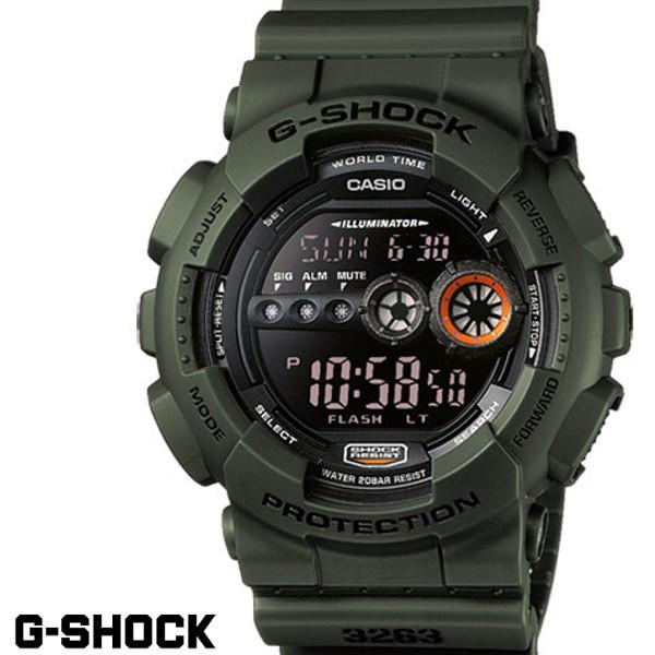 G-SHOCK ジーショック メンズ 腕時計 GD-100MS-3 ...