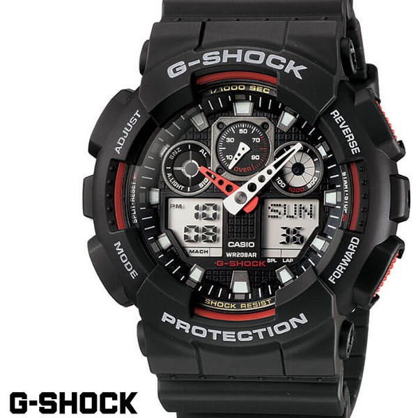 CASIO GA-100-1A4 G-SHOCK Gショック CASIO 腕時...