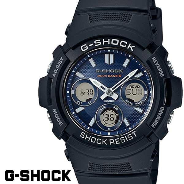 CASIO G-SHOCK ジーショック 電波ソーラー 黒 ブ...