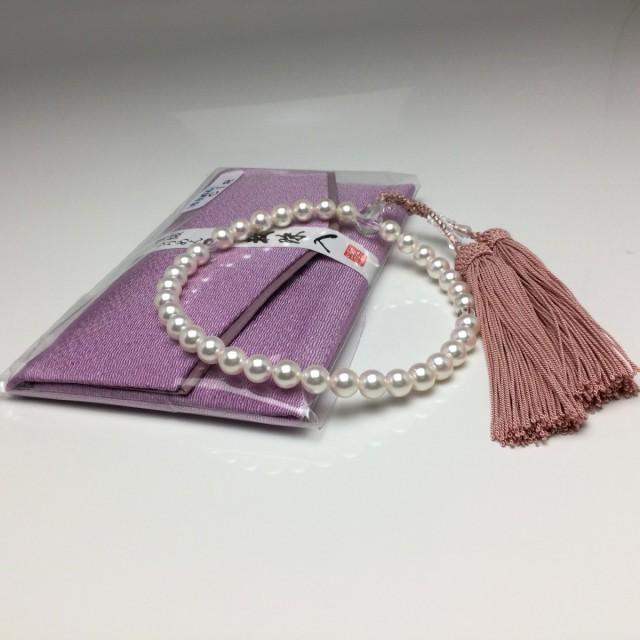 真珠 念珠(数珠) パール アコヤ真珠 真珠数珠 ...