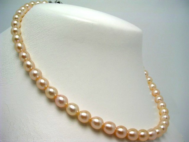 真珠 パール 淡水真珠 ネックレス 真珠ネックレス...