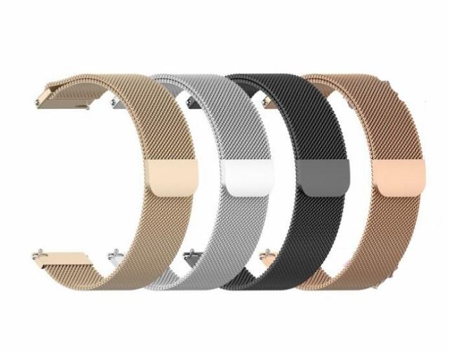 Galaxy Watch 42mm 46mm ハンド ステンレスベルト...