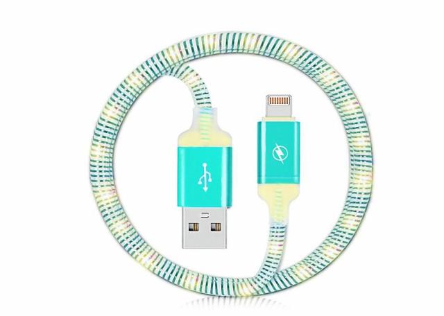 USB ケーブル LEDライト搭載 iPhone7/iPhone7 Plu...