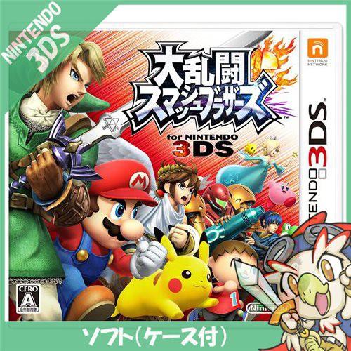 3DS スマブラ 大乱闘 スマッシュブラザーズ ソフ...