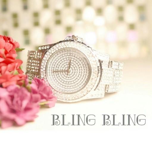 ☆ラグジュアリー☆BLING BLING腕時計☆