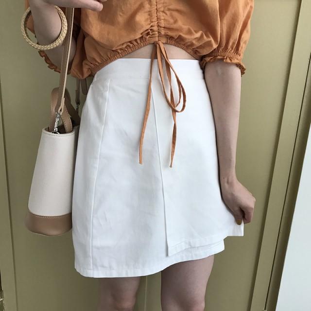 アシンメトリー◇台形スカート