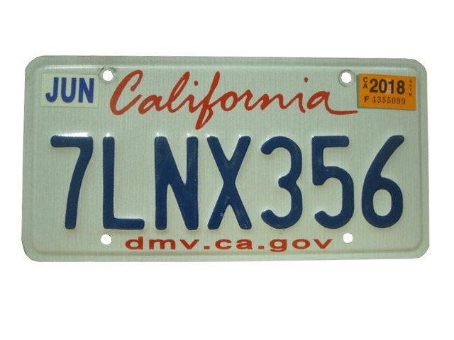California ライセンスプレート USA ナンバープレ...
