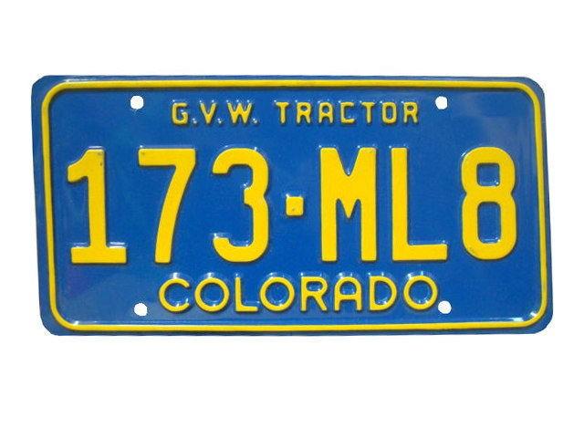 COLORADO ライセンスプレート USA ナンバープレー...