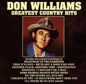 DON WILLIAMS / GREATEST COUNTRY HITS (輸入盤CD...