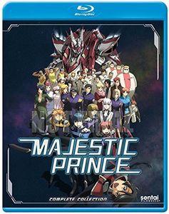 MAJESTIC PRINCE (4枚組)(アニメ輸入盤ブルーレ...