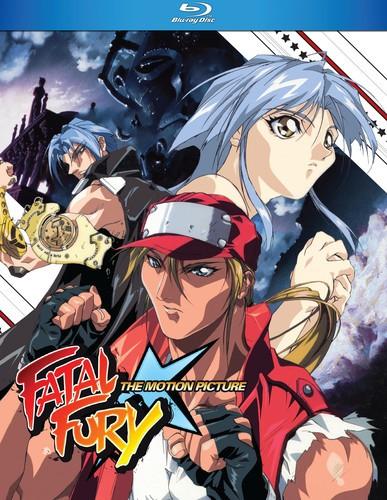 FATAL FURY THE MOVIE (アニメ輸入盤ブルーレイ...