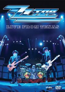 【1】ZZ TOP / LIVE FROM TEXAS (輸入盤DVD) (Z...
