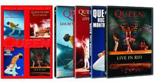 【0】QUEEN / LIVE AT WEMBLY / ROCK MONTREAL / ...