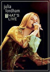 【0】JULIA FORDHAM / THAT'S LIVE (輸入盤DVD) (...