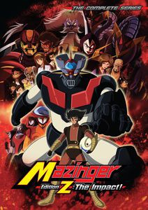 MAZINGER EDITION Z: THE IMPACT (4PC) (アニメ輸...