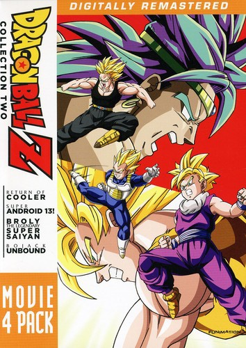 DRAGON BALL Z: MOVIE PACK 2 (4PC) (アニメ輸入...