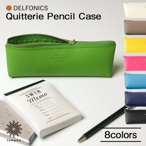 DELFONICS Quitterie Pencil Caseデルフォニック...