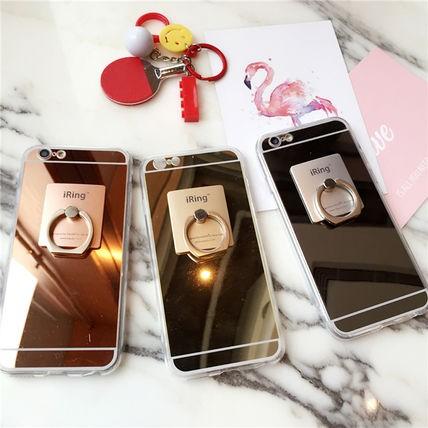 きれいめ・ミラー・リング付 iphone 6s/6plus 7/7...