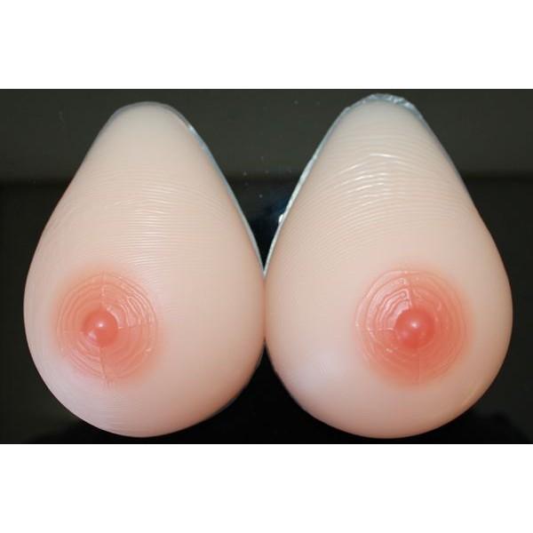 人工乳房 msm600 左右600g Bカップ シリコンバ...