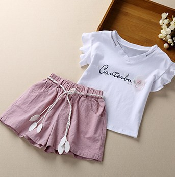 【KIDS】半袖Tシャツ+ショートパンツ 上下セッ...