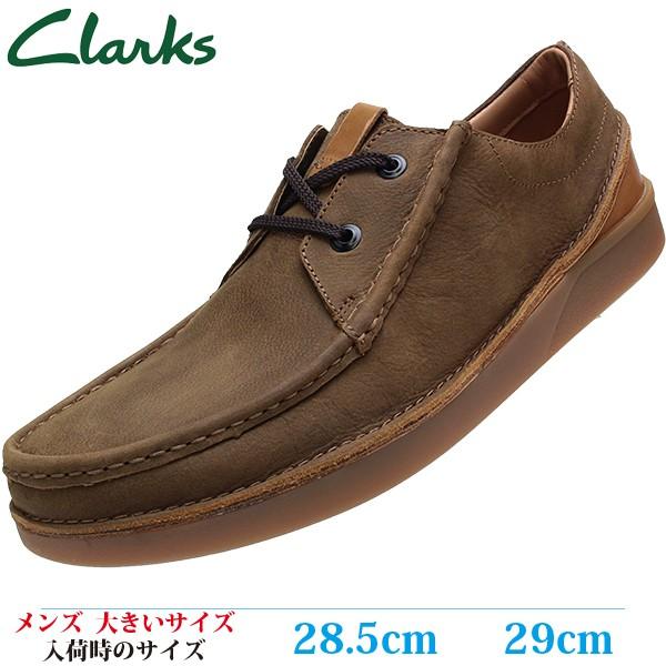 CLARKS カジュアルシューズ 28.5cm 29cm OAKLAND ...