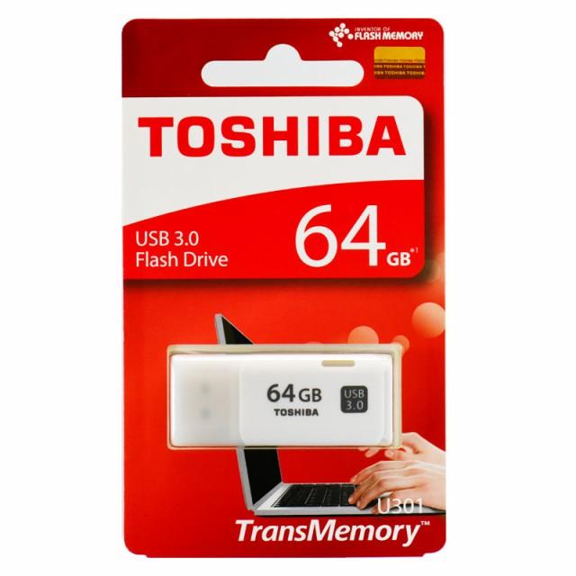 東芝製・高速64GB【USBメモリTHN-U301W0640A4】US...