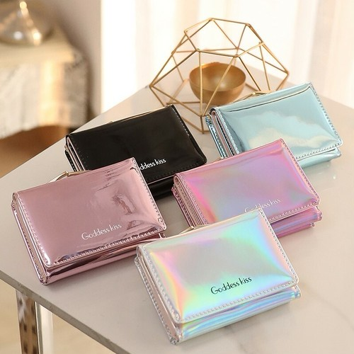 オーロラカラー ちい財布 カードケース パスケー...