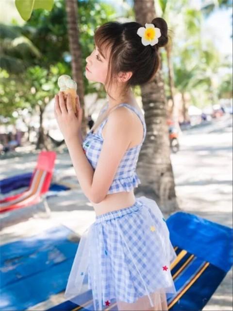3点セット☆チュールスカート付き ギンガムチェ...