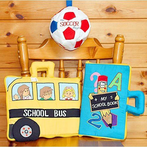 布絵本MY ABC TRAVEL BAG/SCHOOL BUS   &MY SCHOO...