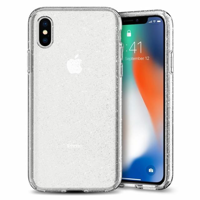 アイフォンx ケース spigen iphone10 リキッドク...