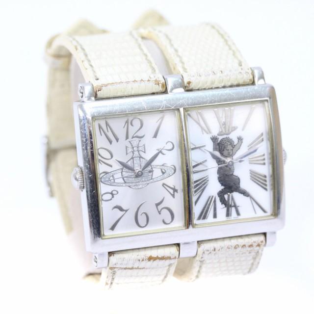 ヴィヴィアンウエストウッド Wフェイス 腕時計 レ...