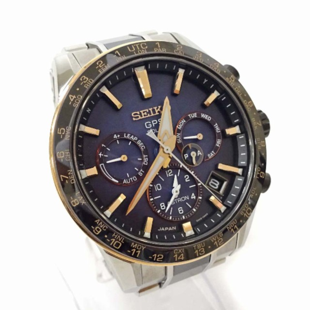 セイコー 腕時計 メンズ ソーラー電波時計 シルバ...