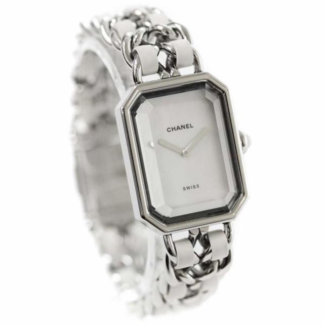 シャネル プルミエール M-Lサイズ 腕時計 レディ...