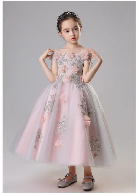 女の子 子供ドレス 子供服 子供用ドレス ピアノ発...